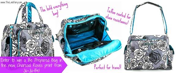 Ju-Ju-Be, Be Prepared Diaper Bag Giveaway