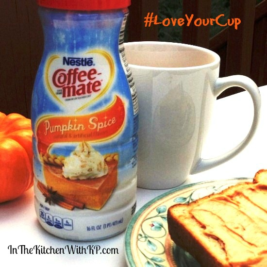 Pumpkin Spice Coffee-Mate #LoveYourCup 5