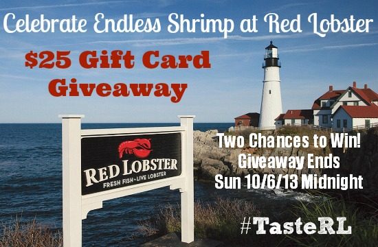 Red-Lobster-$25 Gift-Card Giveaway Ends Oct