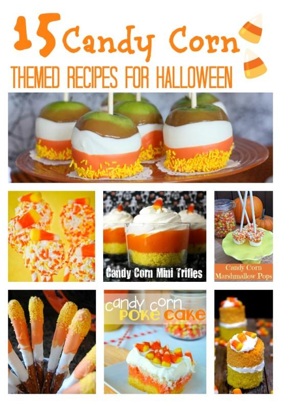 15 Candy Corn Themed Recipes www.InTheKitchenWithKP