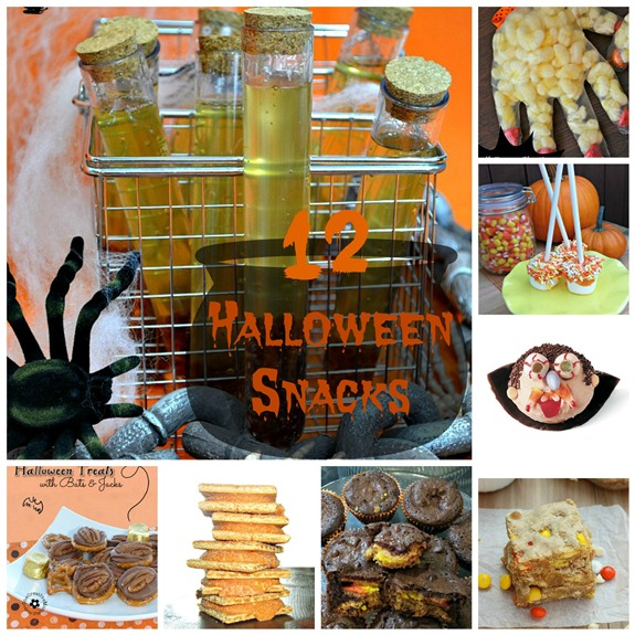 12 Halloween Themed Spooky Snacks In The Kitchen With KP