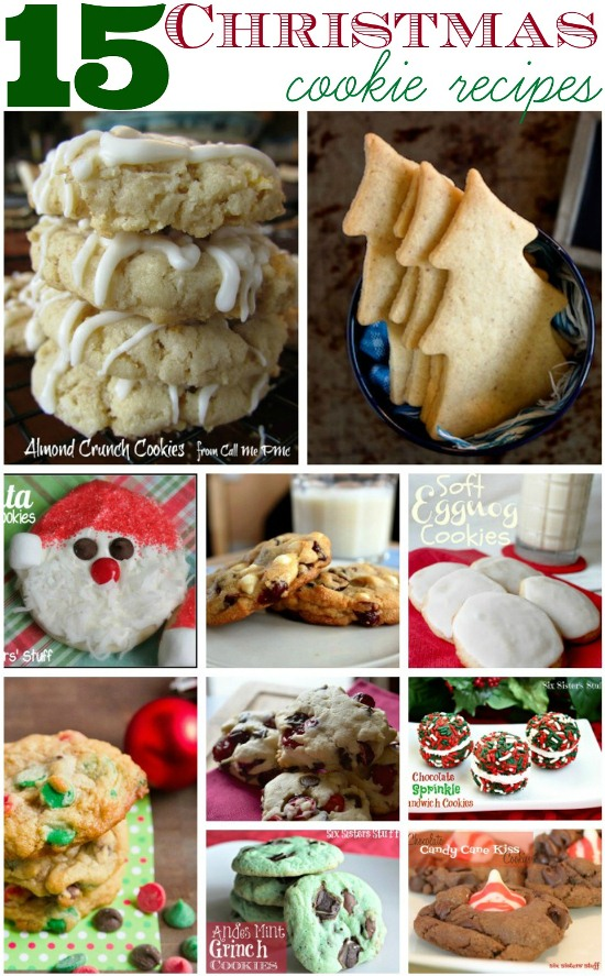 15 Scrumptious Christmas Cookie Recipes www.InTheKitchenWithKP