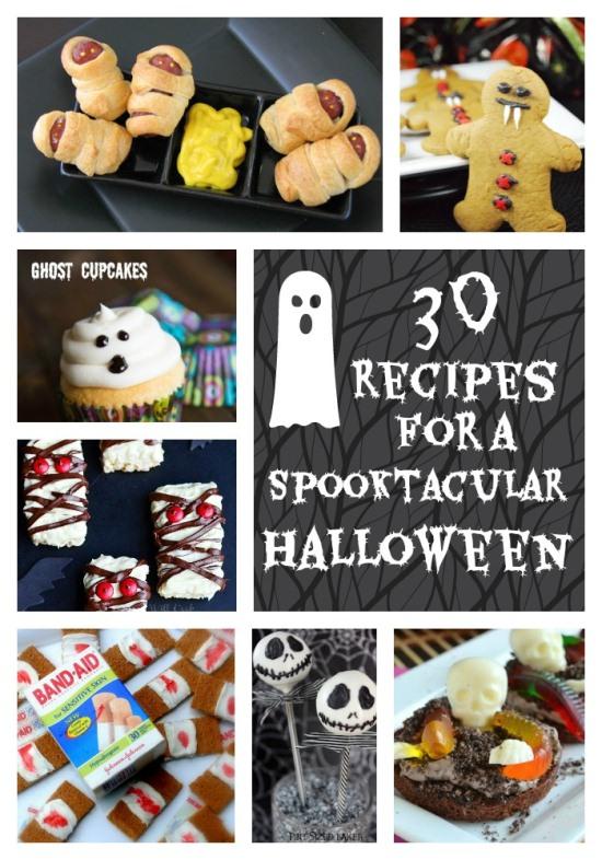 30 Spooky Halloween Themed Recipes www.InTheKitchenWithKP