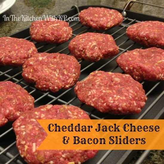 Cheddar Jack Cheese and Bacon Sliders #FreshTake #shop In The Kitchen With KP 4