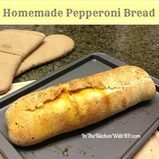 Homemade Pepperoni Bread recipe In The Kitchen With KP 3