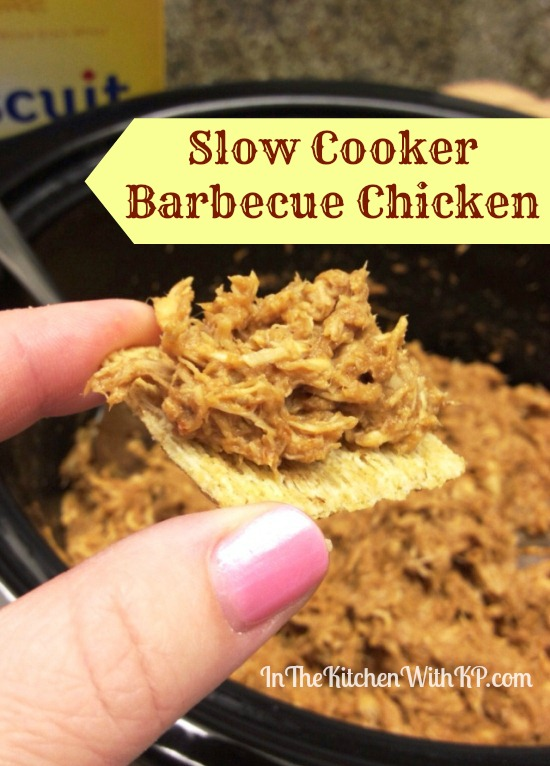 Slow Cooker Barbecue Chicken In The Kitchen With KP 3