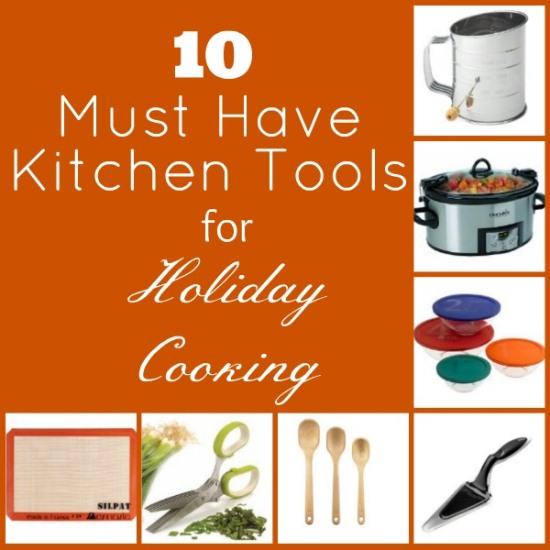 10 Must Have Kitchen Tools www.InTheKitchenWithKP #KitchenTools