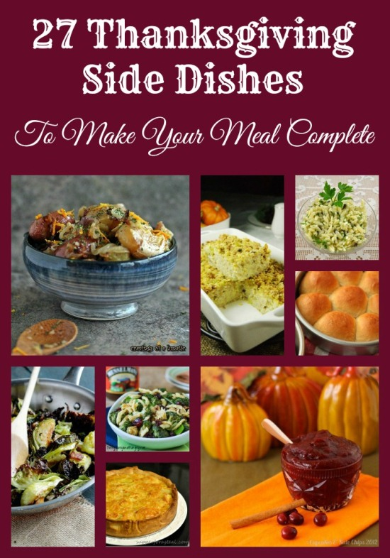 27 Thanksgiving Side Dishes #recipe www.InTheKitchenWithKP