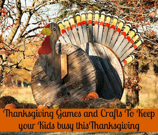 Thanksgiving games and crafts with kids #Games #crafts www.InTheKitchenWithKP