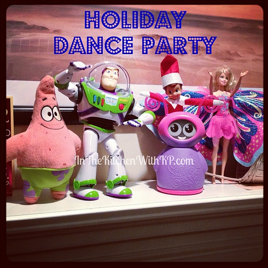 Elfie Throws a Dance Party #ElfontheShelf www.InTheKitchenWithKP