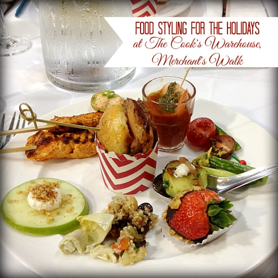 Food Styling for the Holidays With #CooksWarehouse and #MerchantsWalk www.InTheKitchenWithKP 5
