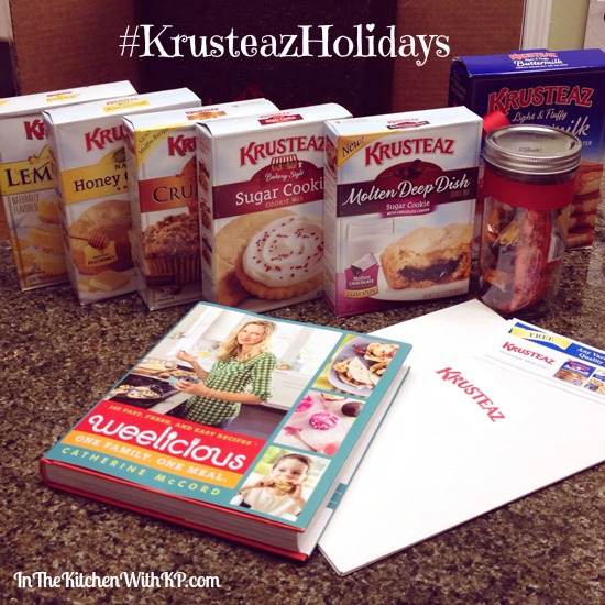 Krusteaz Virtual Holiday Baking Party #KrusteazHolidays www.InTheKitchenWithKP
