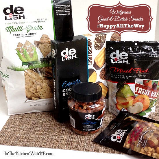 Walgreens Good & Delish Snacks #HappyAllTheWay #shop 2