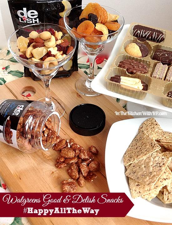 Walgreens Good & Delish Snacks #HappyAllTheWay #shop 7