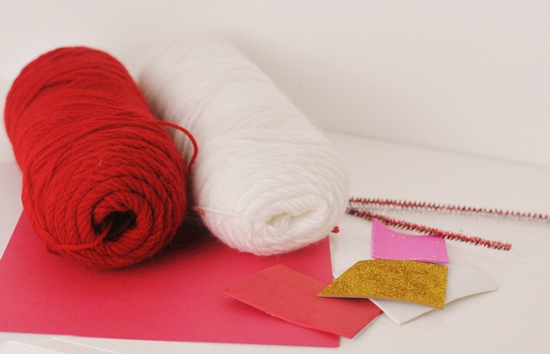 Pom Pom Monsters Kid Craft for Valentine's Day #craft www.InTheKitchenWithKP 2