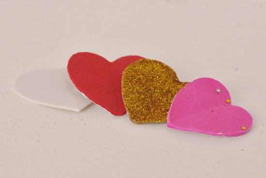 Pom Pom Monsters Kid Craft for Valentine's Day #craft www.InTheKitchenWithKP 4
