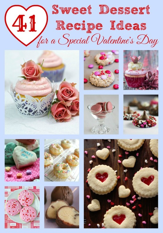 41 Sweet Dessert Recipe Ideas for a Special Valentine's Day #recipe www.InTheKitchenWithKP