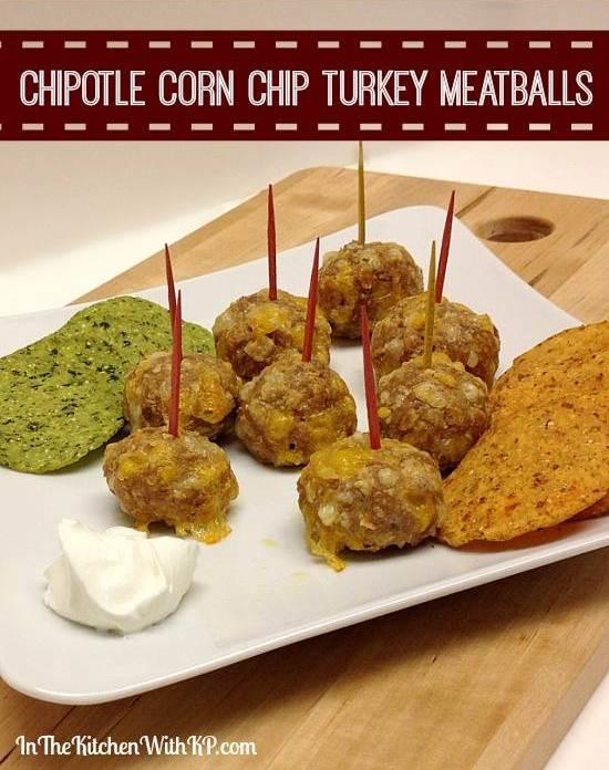 Chipotle-Corn-Chip-Turkey-Meatballs-recipe-www.InTheKitchenWithKP-2