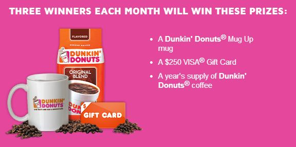 Dunkin Donuts Contest #DunkinMugUp #ad www.InTheKitchenWithKP 4