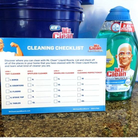 Get Spotless With @RealMrClean Liquid Muscle #MrCleanMorePower www.InTheKitchenWithKP 3
