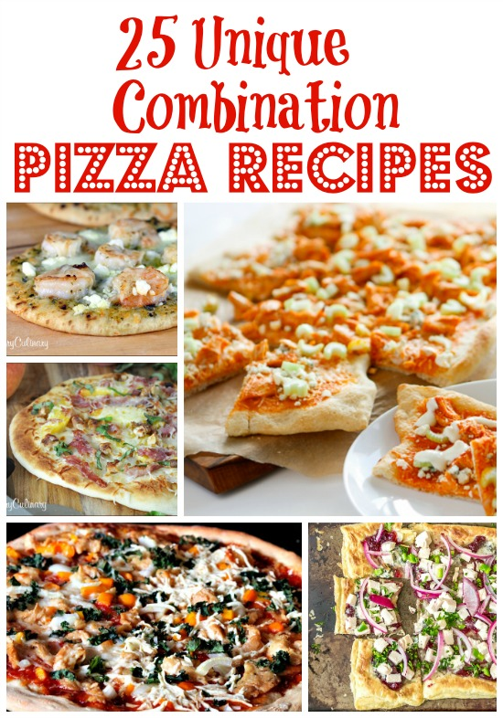 25 Pizza Recipes www.InTheKitchenWithKP #recipe #pizza