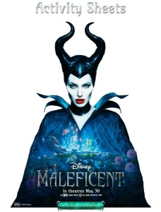 Maleficent Activity Printables Image