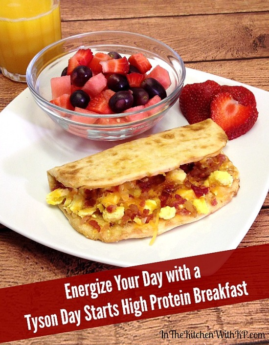 #ad Energize Your Day with a Tyson Day Starts High Protein Breakfast #StartWithTyson #shop 1