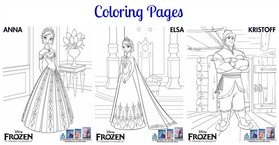 Disneys Frozen Activity Printables