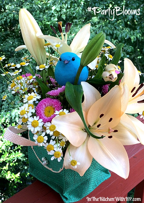 Party Planning is a Snap with ProFlowers and Evite #PartyBlooms www.InTheKitchenWithKP 2