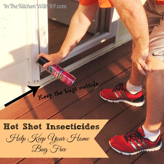 Hot Shot® Insecticides Help Keep a Home Bug Free www.InTheKitchenWithKP 4