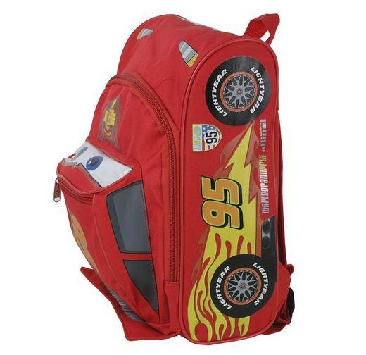 Lightning McQueen Backpack www.InTheKitchenWithKP