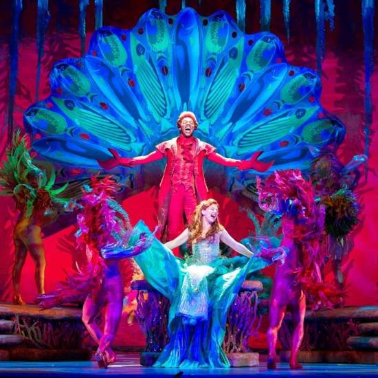 Under the Sea #TheLittleMermaid #BroadwayAtlanta www.InTheKitchenWithKP #familyfun 1