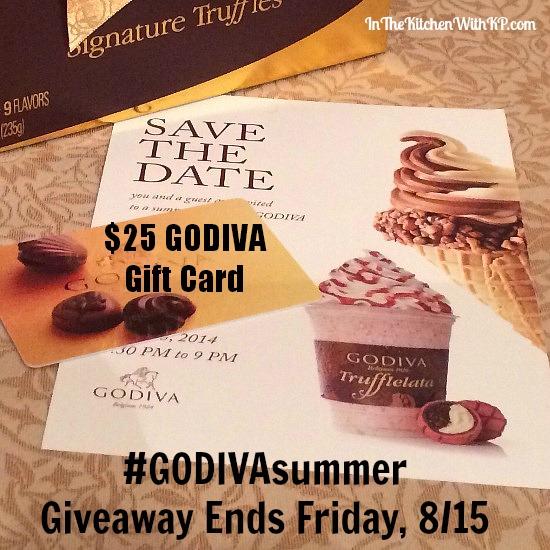 Summer Fling with GODIVA's Trufflelata #GODIVASummer www.InTheKitchenWithKP 11