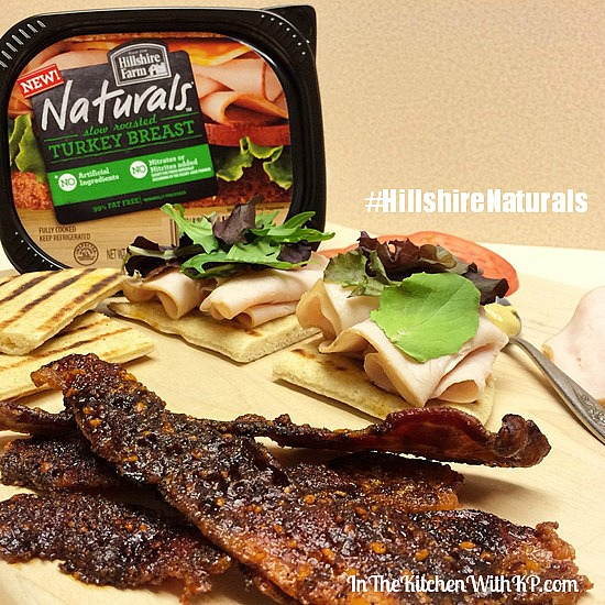 Back to School Lunch Idea Praline Bacon and Turkey Club www.InTheKitchenWithKP #HillshireNaturals 2
