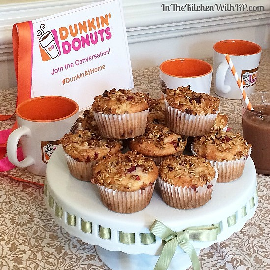 Coffee Recipes with Dunkin' Donuts Bakery Series Coffee #recipe www.InTheKitchenWithKP 1