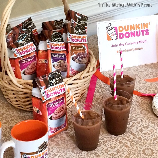 Coffee Recipes with Dunkin' Donuts Bakery Series Coffee #recipe www.InTheKitchenWithKP 2