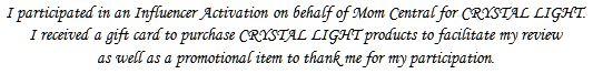 Mom Central Crystal Light Miranda Lambert Disclosure