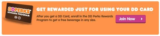 Dunkin Donuts Perks Program 2
