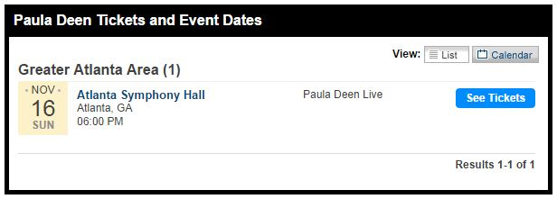 Paula Deen Live in Atlanta www.InTheKitchenWithKP Atlanta Attractions 2