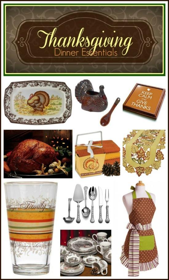 Thanksgiving Hostess Gift Ideas and Dinner Essentials www.InTheKitchenWithKP