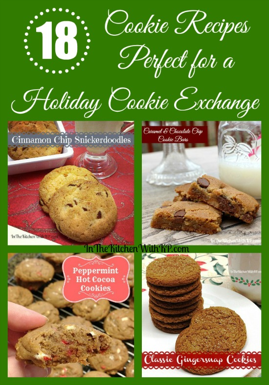 18 Awesome Cookie Recipes for a Holiday Exchange www.InTheKitchenWithKP