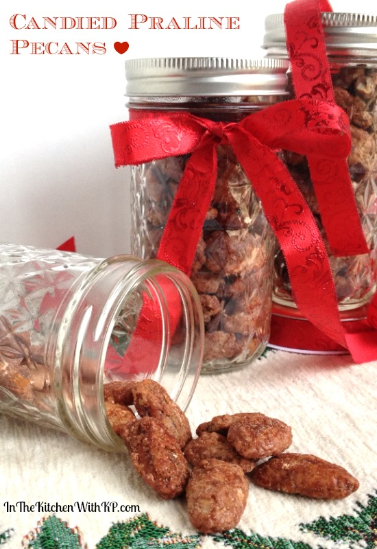 Homemade Candied Praline Pecans recipe | In The Kitchen With KP