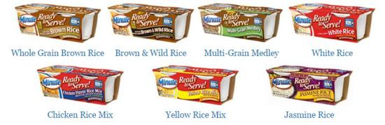 Minute Ready to Serve Rice Varieties #minutesnacks www.InTheKitchenWithKP
