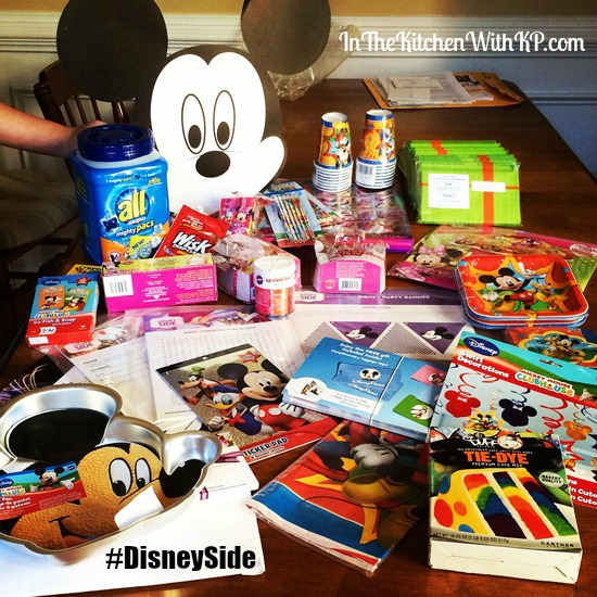 Disney Side at Home Celebration | In The Kitchen With KP | Showing our #DisneySide