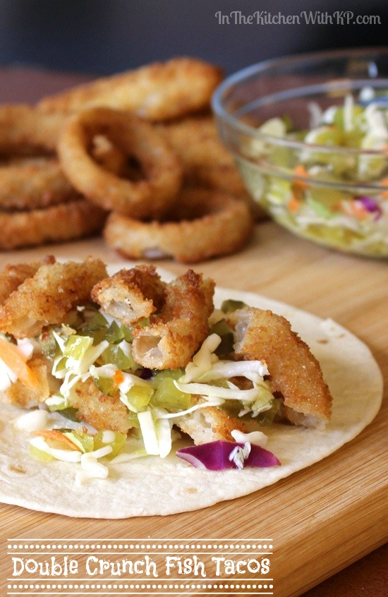 Oven Baked Double Crunch Fish Tacos Recipe | In The Kitchen With KP