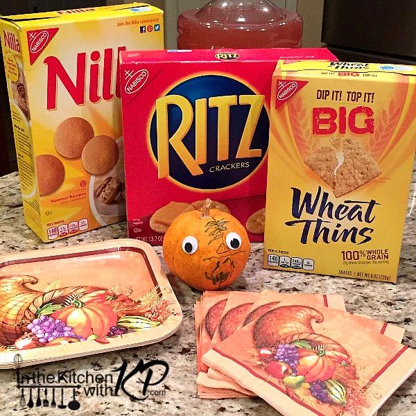 Apple Pecan RITZwich www.InTheKitchenWithKP Holiday Appetizer Snack Recipe 12