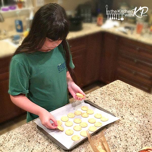 Apple Pecan RITZwich www.InTheKitchenWithKP Holiday Appetizer Snack Recipe 4