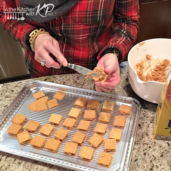 WHEAT THINS PB Chocolate Bites | In The Kitchen With KP | Easy Holiday Recipes