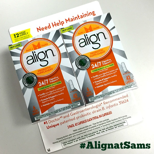 Getting Back On Track With Align Probiotics at Sam's Club | In The Kitchen With KP | Getting Healthy Ideas