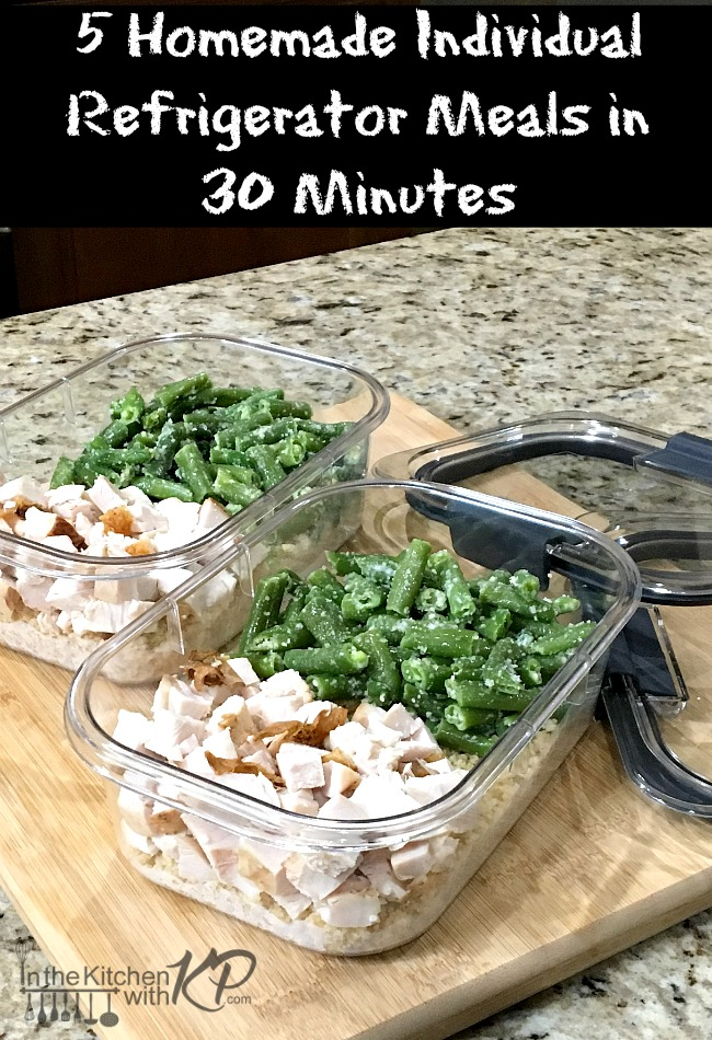 5 Homemade Individual Refrigerator Meals in 30 Minutes | In The Kitchen With KP | Easy Healthy Recipe